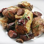 kurczak5 150x150 - Pełnoziarniste marchewkowe muffinki z orzechami włoskimi i dżemem