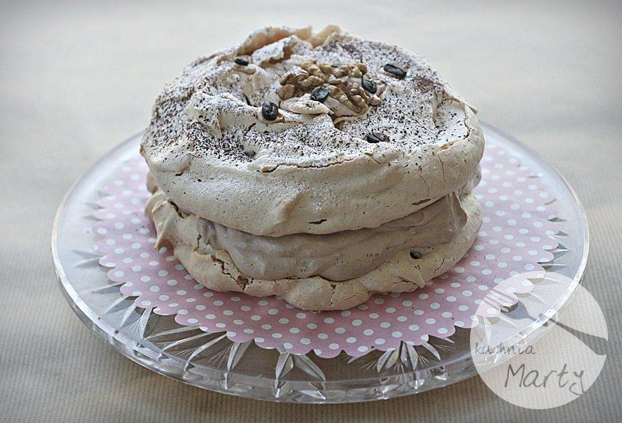 7707.900 - Kawowo orzechowy tort dacquoise