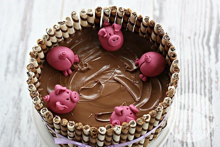 0236.900 - Tort świnki w błotku