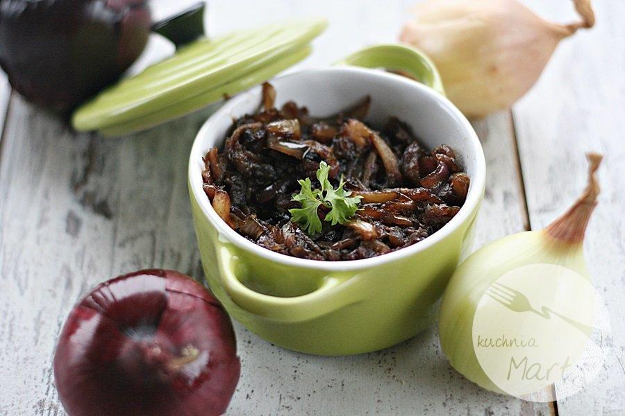 Karmelizowana cebula