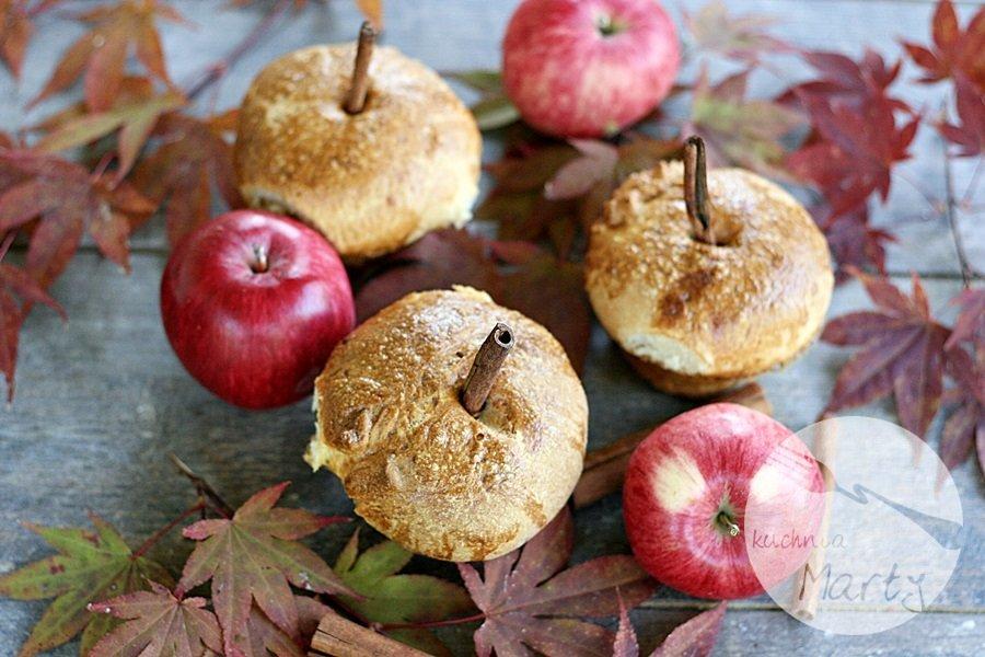 Drożdżowe jabłka