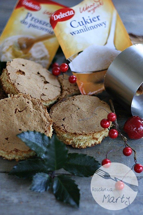 Mini torciki czekoladowo krówkowe