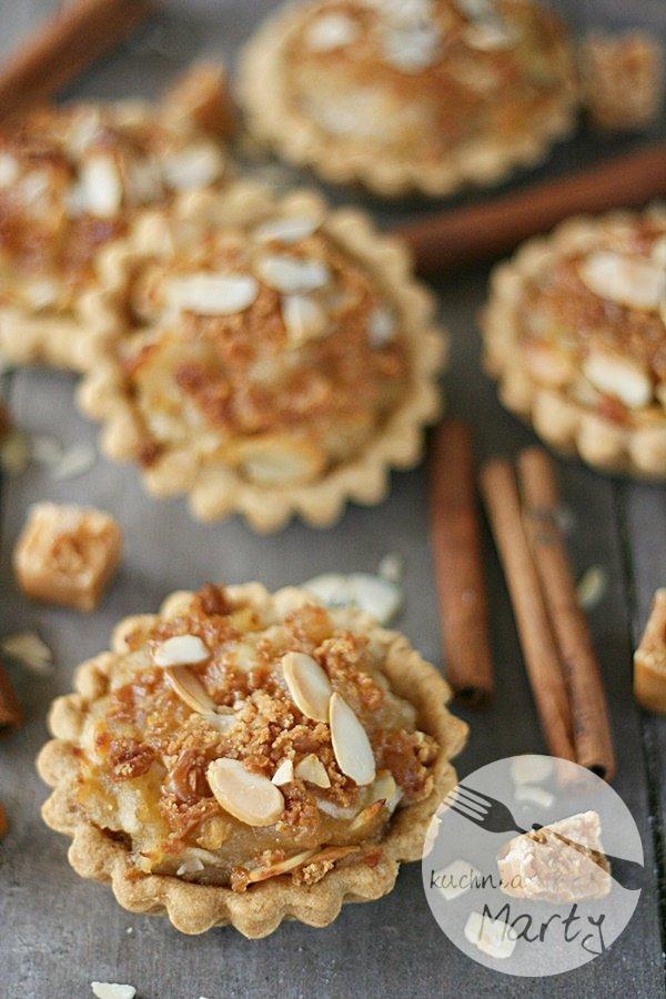 Tartaletki z jabłkami i migdałami