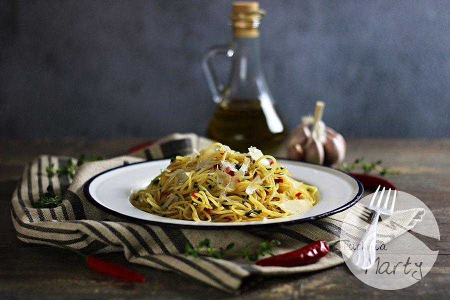 1549 - Spaghetti aglio olio e peperoncino