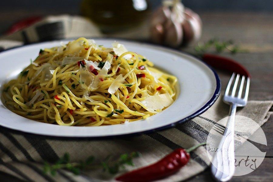 1553 - Spaghetti aglio olio e peperoncino