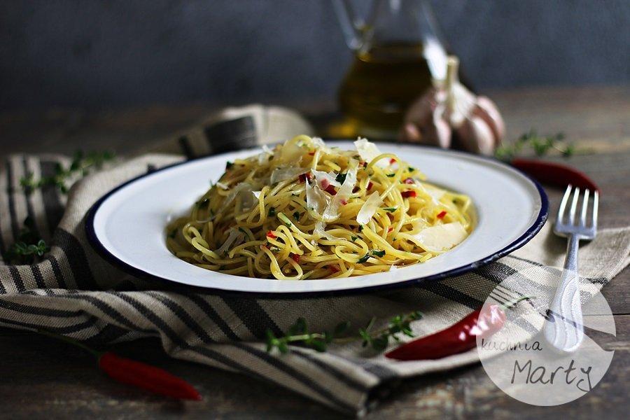 1580 - Spaghetti aglio olio e peperoncino