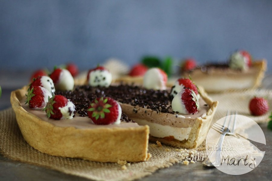 6640 - Podwójnie czekoladowa tarta