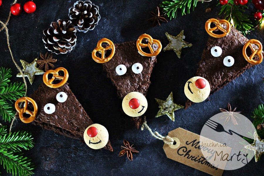 6156 - Świąteczne brownie