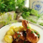 Udka kurczaka w kremowym sosie