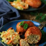 Pulpeciki z ryżem i sosem pomidorowym