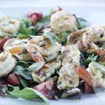 sałatka 150x150 - Grillowany ser halloumi z kuskusem i warzywami
