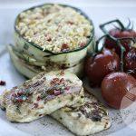 serek 150x150 - Sałatka z grillowanym serem halloumi i krewetkami