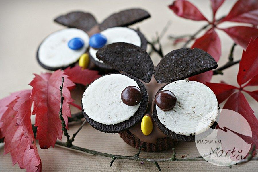 7137.900 - Babeczki słodkie, czekoladowe sowy