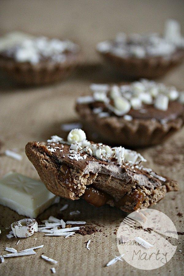 1649.900 - Karmelowe tartaletki z czekoladą