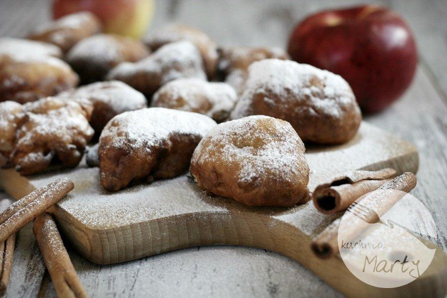 3287.900 - Mini pączki z jabłkiem i cytryną