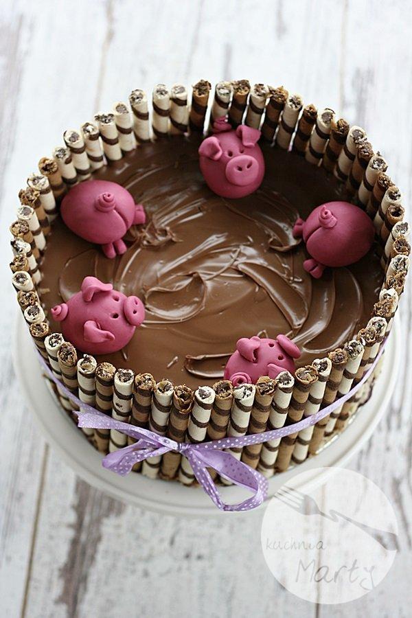 0244.900 - Tort świnki w błotku