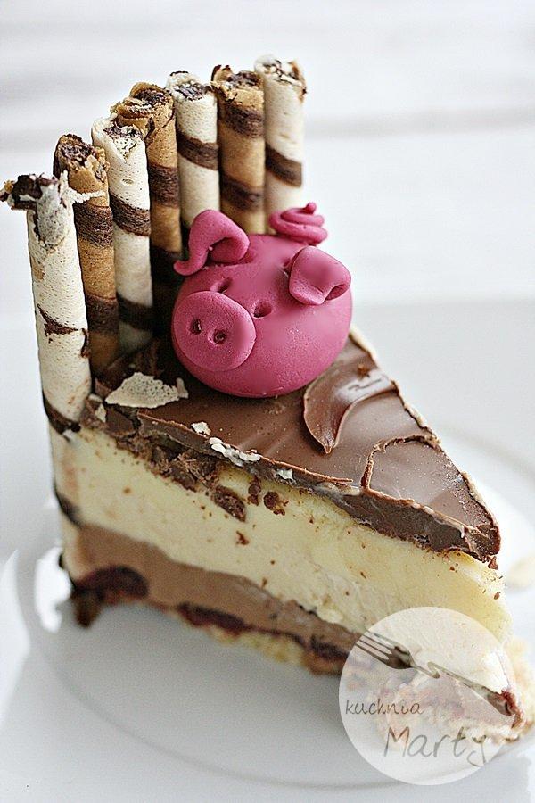 0315.900 - Tort świnki w błotku