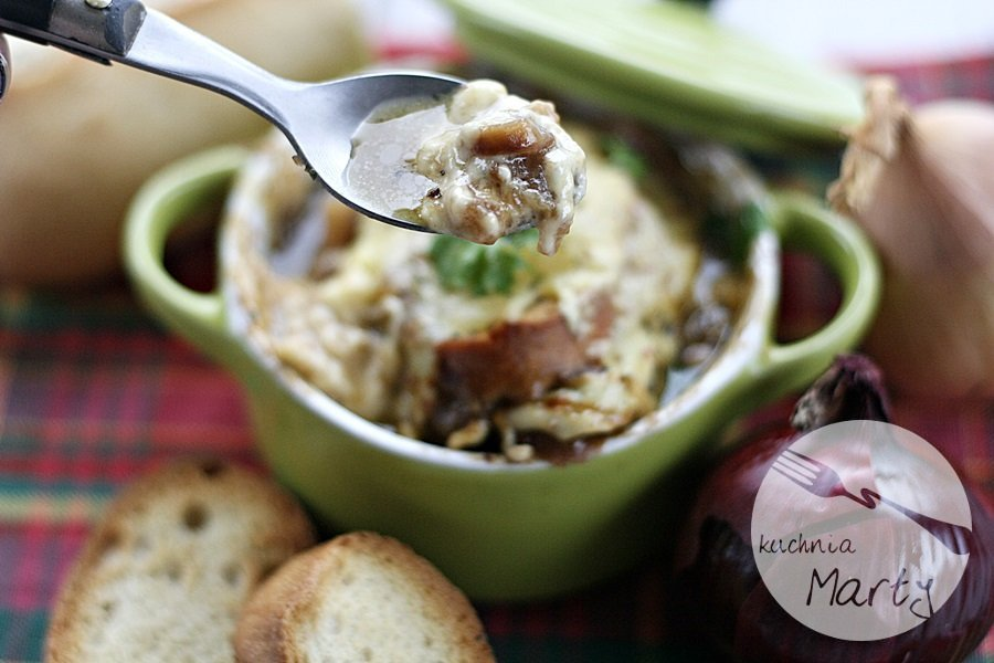 Przepis Na Zupa Cebulowa Blog Kulinarny Kuchnia Marty