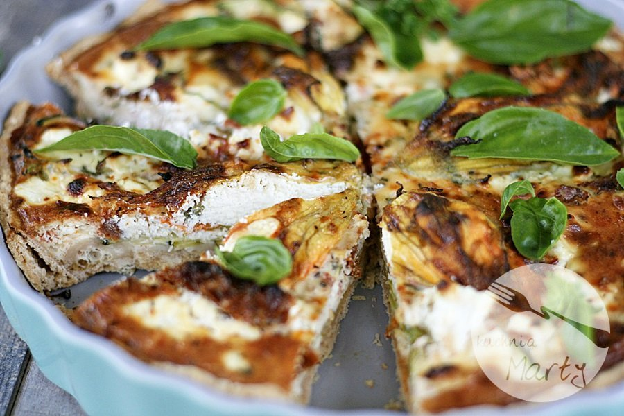 Przepis Na Wytrawna Tarta Z Cukinią Blog Kulinarny