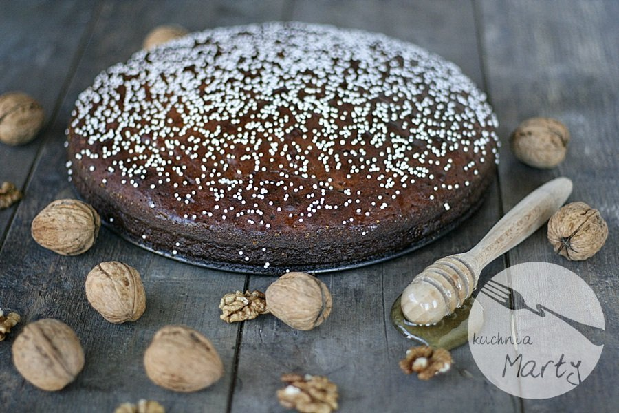 1661.900 - Miodowe ciasto z orzechami