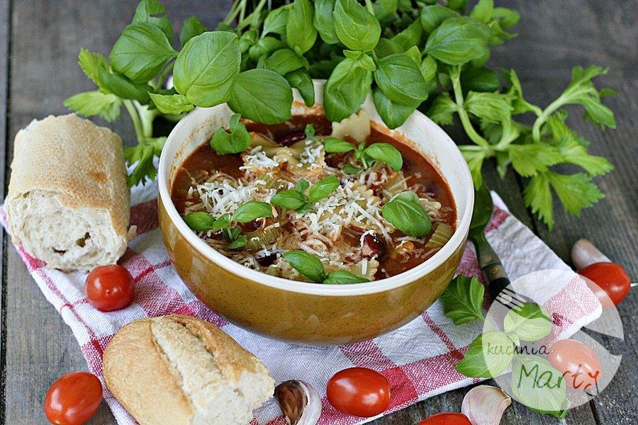 4602.900 - Zupa pomidorowa z fasolą i makaronem