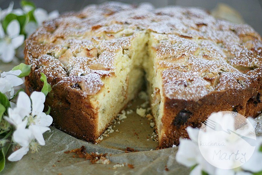 8431.900 - Jogurtowe ciasto z rabarbarem i jabłkami