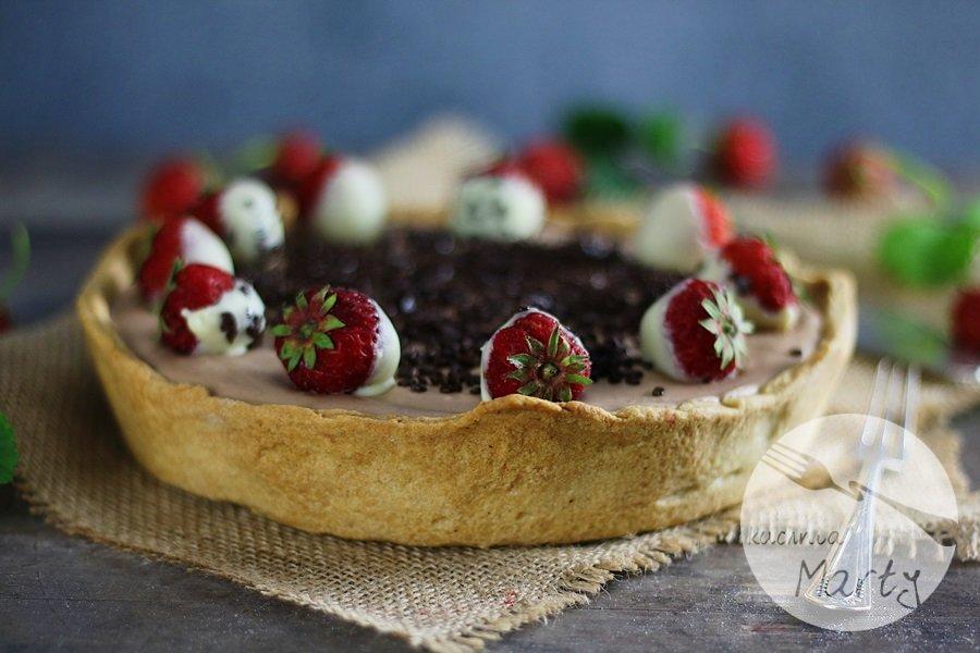 6586 - Podwójnie czekoladowa tarta