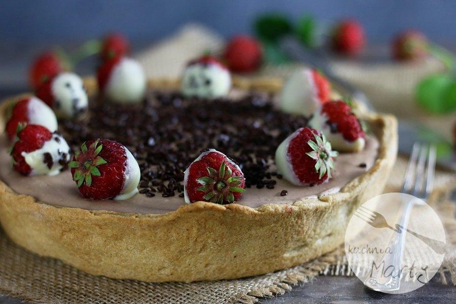 6603 - Podwójnie czekoladowa tarta