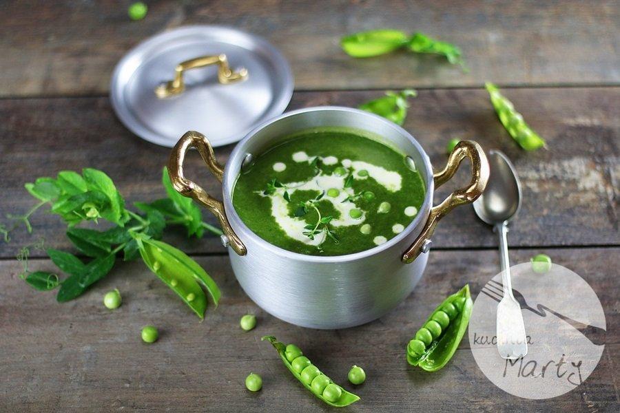 7598 - Zupa z zielonego groszku