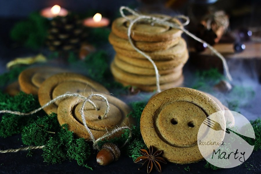 5437 - Korzenne ciasteczka z nutą pomarańczy