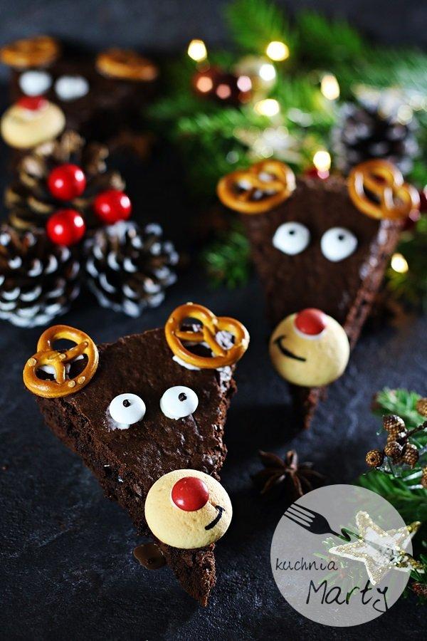 6115 - Świąteczne brownie