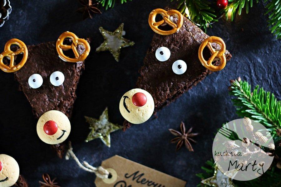 6160 - Świąteczne brownie