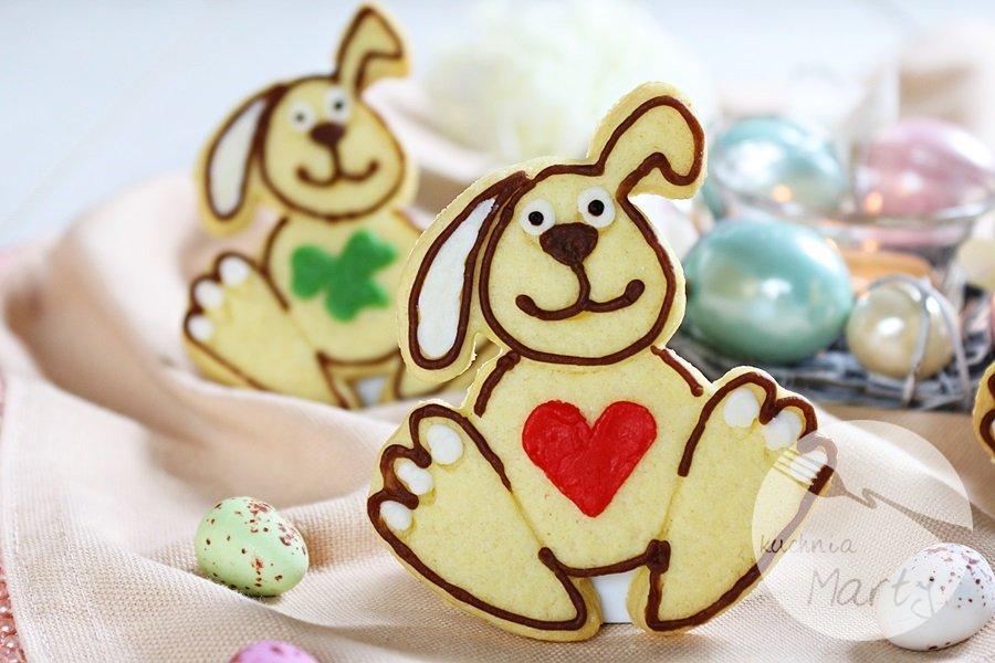 8198 - Wielkanocne ciasteczka cytrynowe