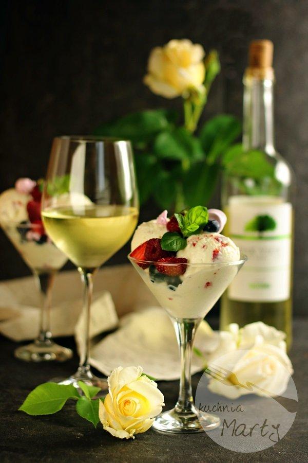 Lody z białym winem - KONKURS