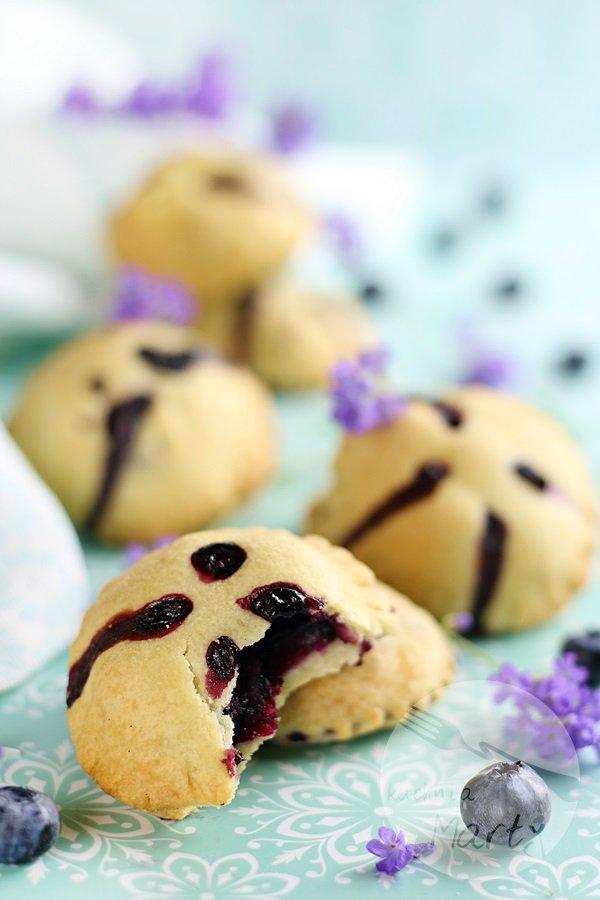 2292 - Kruche ciasteczka z borówkami
