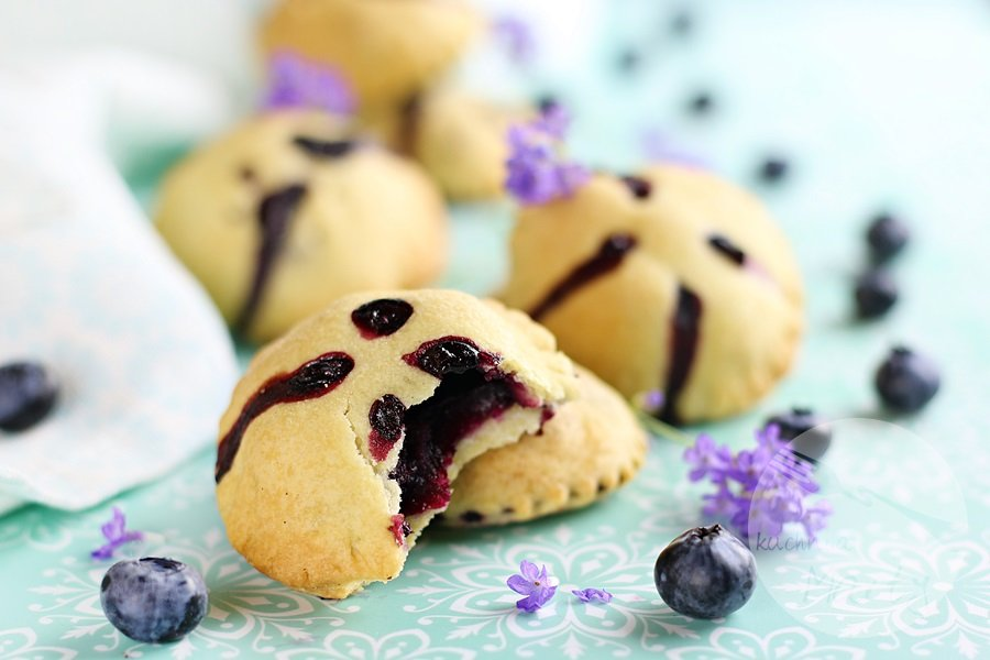 2296 - Kruche ciasteczka z borówkami