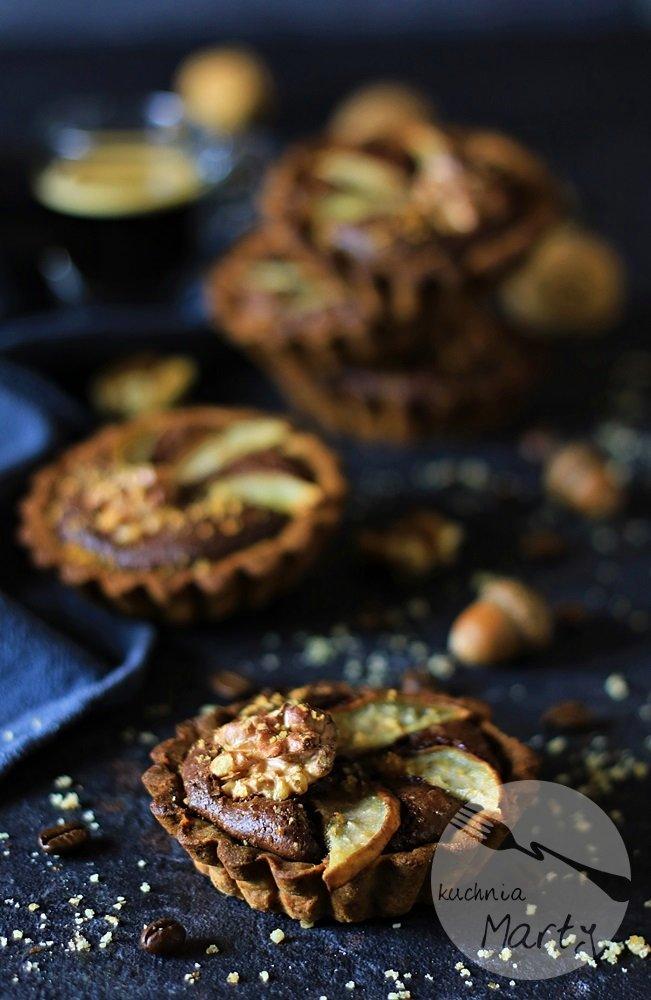 5000 - Tartaletki orzechowe z czekoladowym kremem