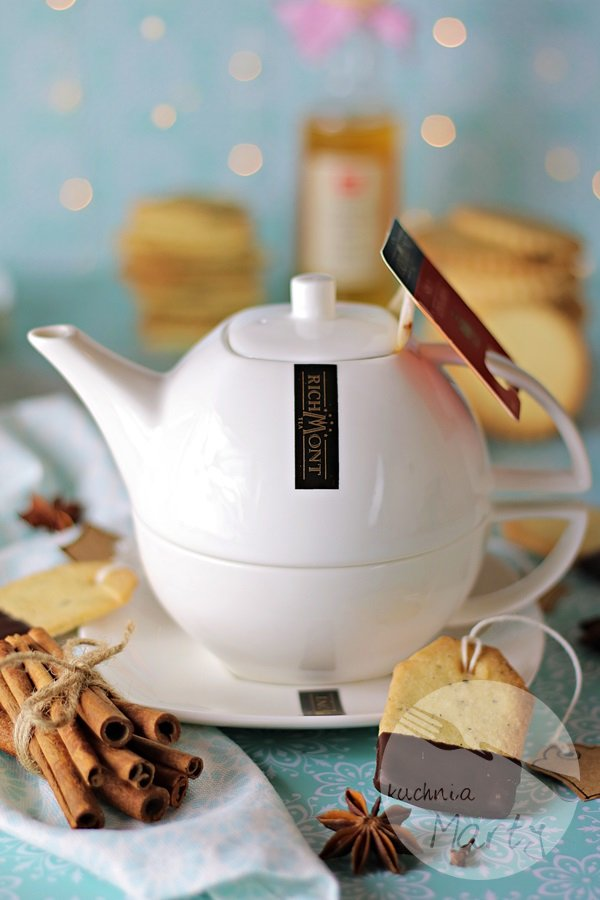 6936 - Kruche ciasteczka z herbatą