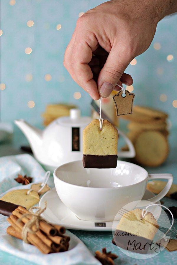 6966 - Kruche ciasteczka z herbatą