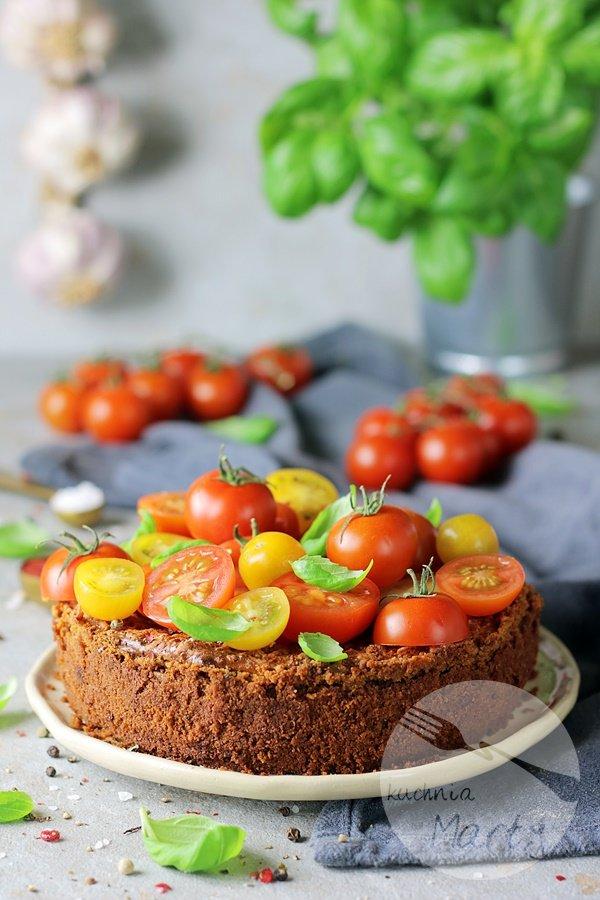 7607 - Sernik pomidorowo bazyliowy