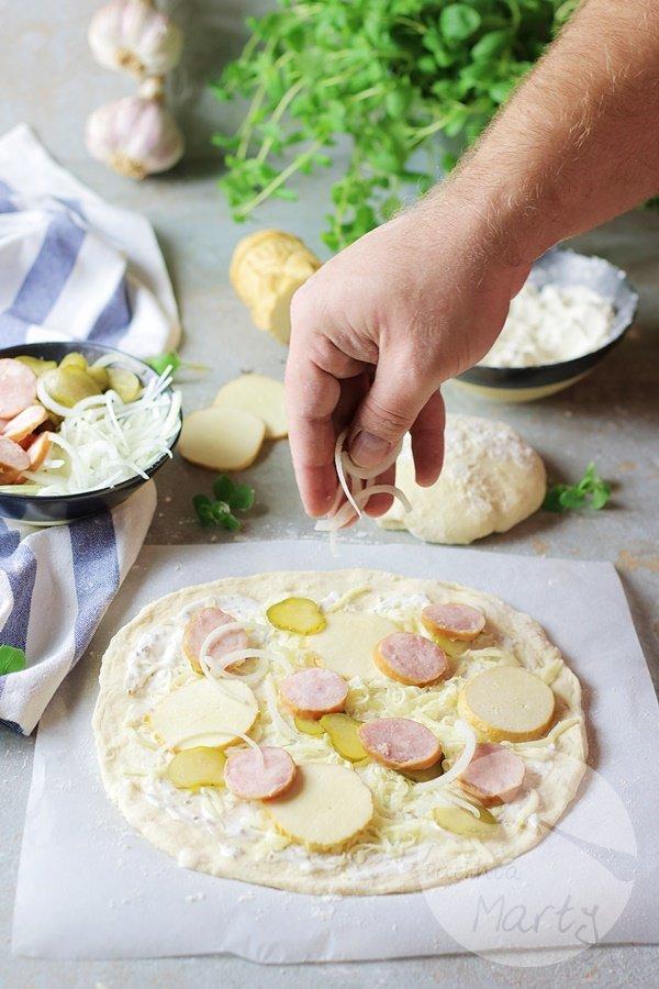 2746 - Biała pizza po morlińsku