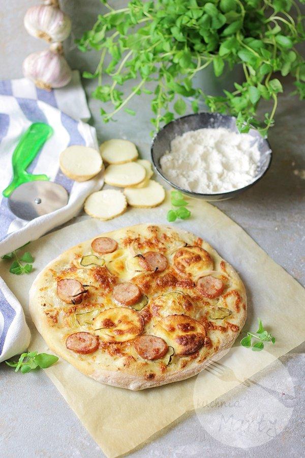 Biała pizza po morlińsku
