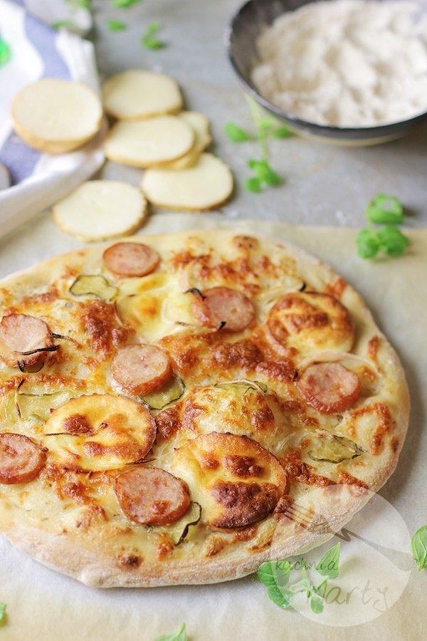 2793 - Biała pizza po morlińsku