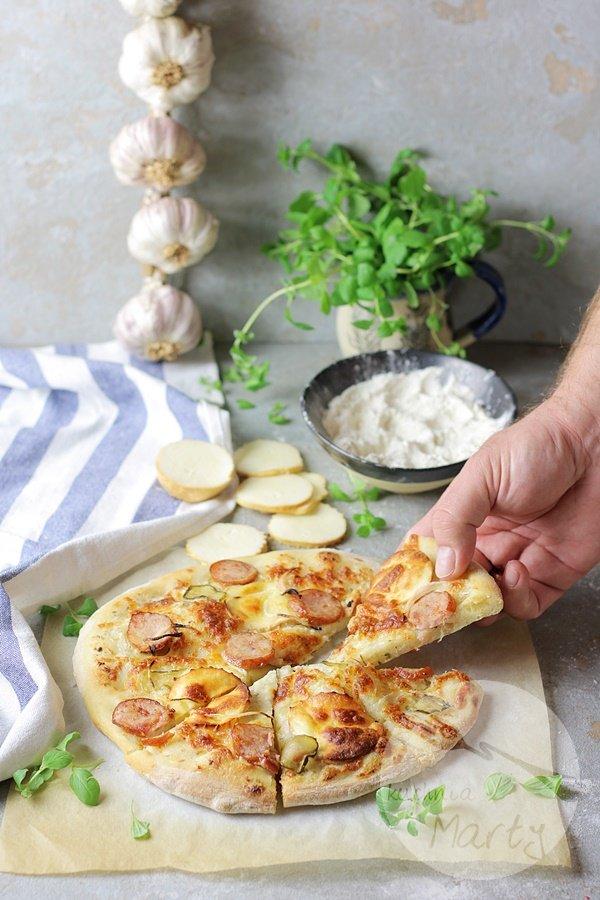 2863 - Biała pizza po morlińsku