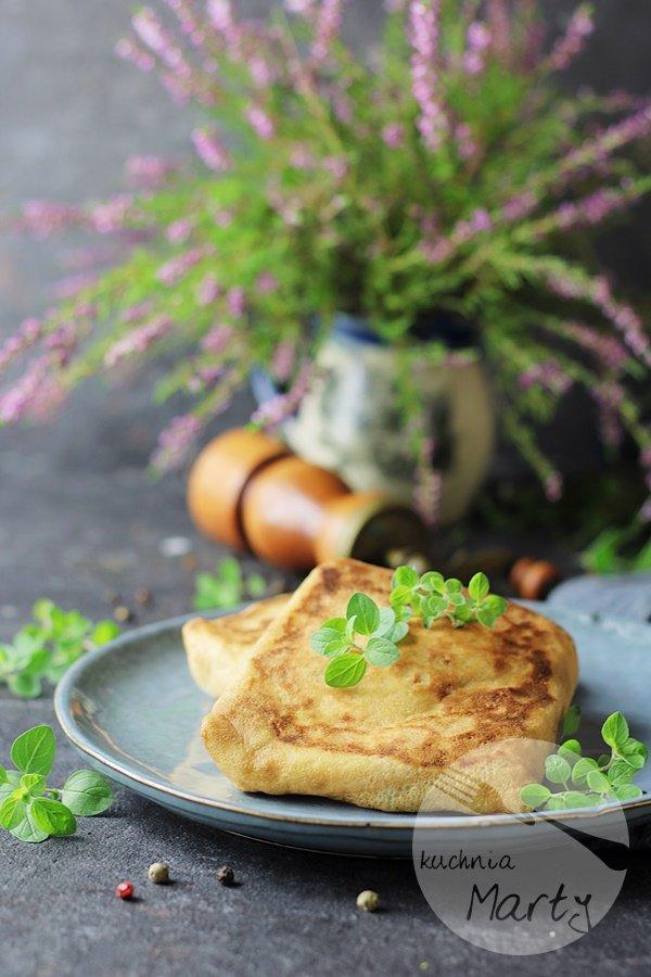 1078 - Naleśniki z pieczarkami i mozzarellą