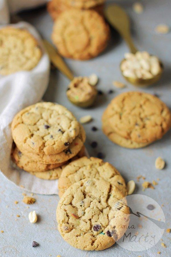 3902 - Klasyczne ciasteczka z masłem orzechowym